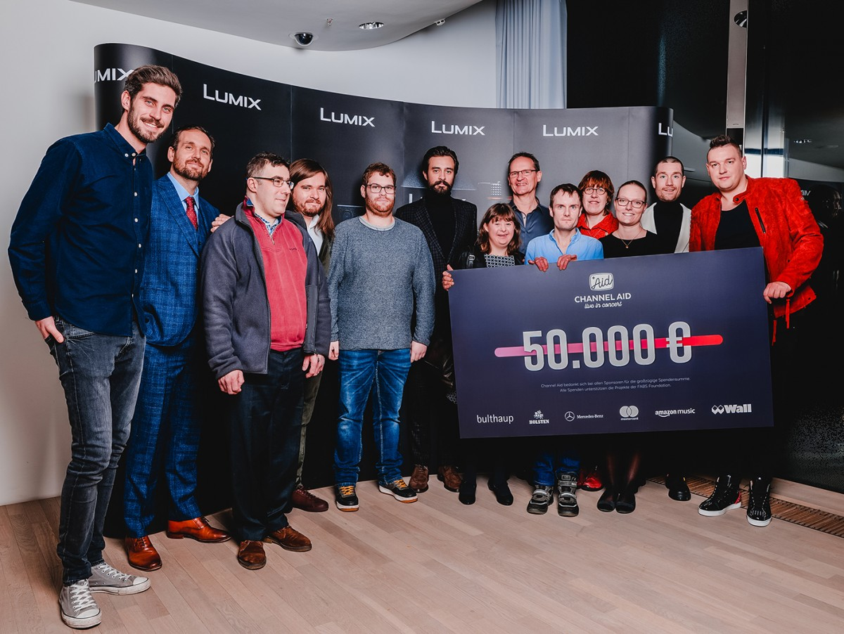 50.000 € for the good cause