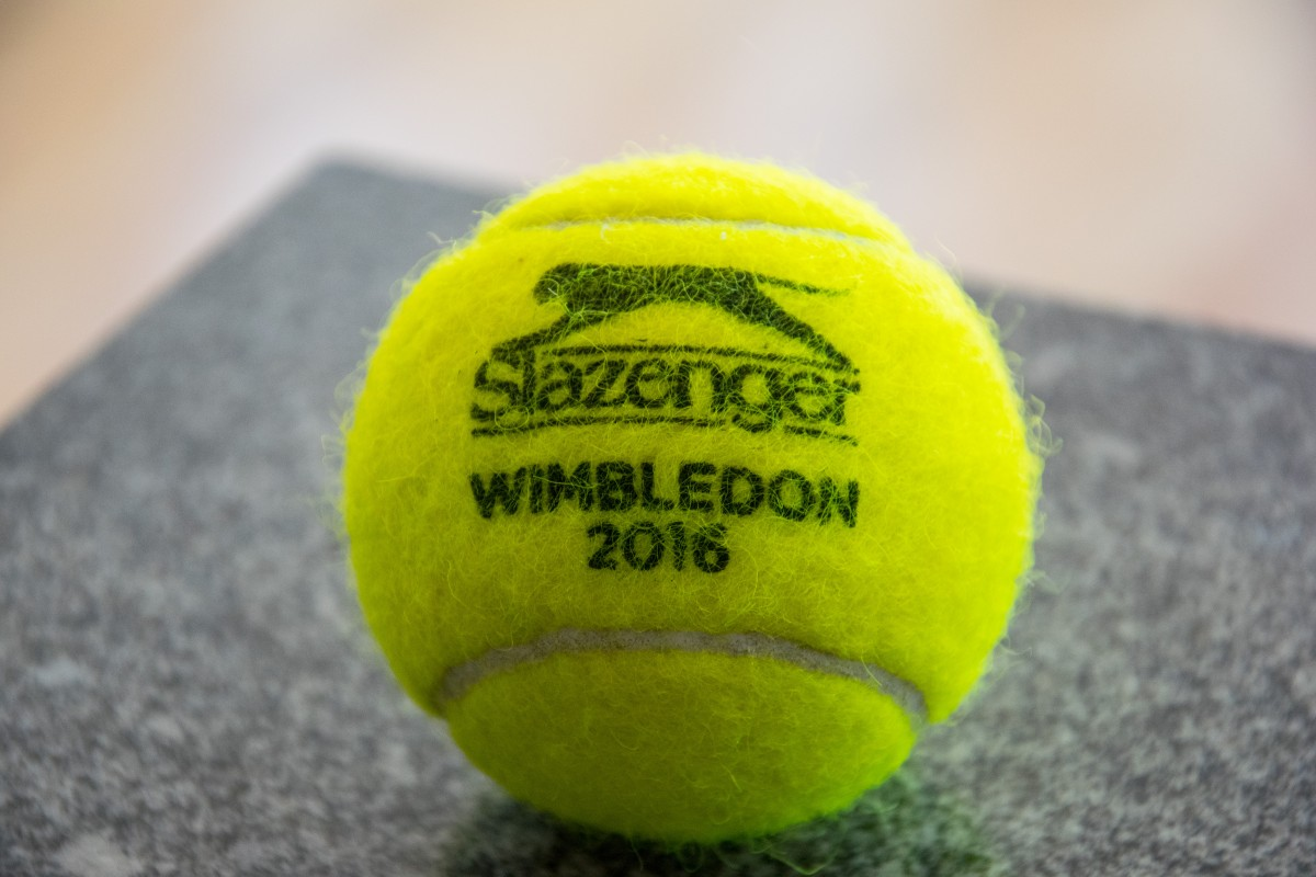 Wimbledon Tennis Ball from 2016